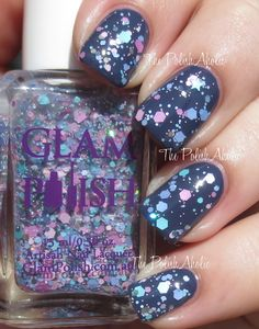 Glam Polish Bibbidi-Bobbidi-Boo (You're Never Too Old To Be Young Collection Swatches & Review)