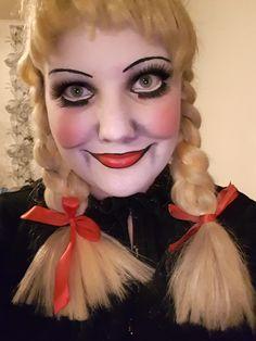 Annabelle makeup till halloween