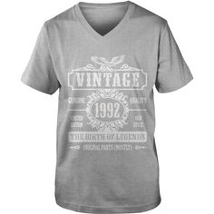 Vintage 1992 The Birth Of Legends T-Shirt #gift #ideas #Popular #Everything #Videos #Shop #Animals #pets #Architecture #Art #Cars #motorcycles #Celebrities #DIY #crafts #Design #Education #Entertainment #Food #drink #Gardening #Geek #Hair #beauty #Health #fitness #History #Holidays #events #Home decor #Humor #Illustrations #posters #Kids #parenting #Men #Outdoors #Photography #Products #Quotes #Science #nature #Sports #Tattoos #Technology #Travel #Weddings #Women