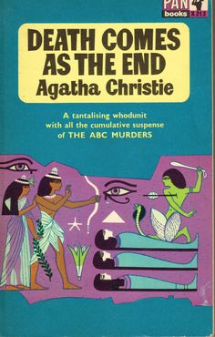https://flic.kr/p/C7JGmE | Death Comes As The End | Pan Book X213 (1963)  Agatha…