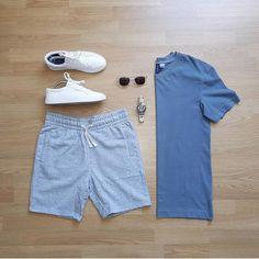 Really nice urban mens fashion ! Fashion Mode, Daily Fashion, Mens Fashion, Fashion Outfits, Fashion Shirts, Fashion Trends, Casual Outfits, Men Casual, Summer Outfits