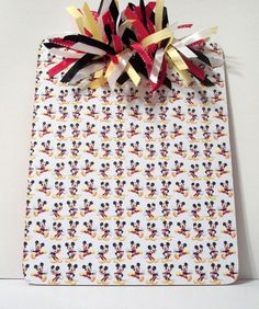 Personalized Mickey Mouse Clipboard