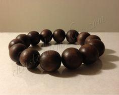 brown wood bracelet 1