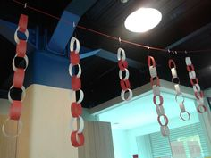 "Kidsclub ""Rantai Merah Putih"" Track Lighting, Ceiling Lights, Decoration, Crafts, Ideas, Home Decor, Decor, Manualidades, Decoration Home"
