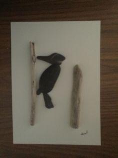 NO STONE UNTURNED Pebble Art by Dawn Woodpecker                                                                                                                                                     More