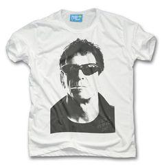 Mens Lou Reed Portrait Tribute T-shirt Men's Collection, Plastic, Fashion Outfits, Portrait, Retro, Tees, Clothing, Mens Tops, T Shirt