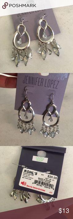 New with Tags J-Lo Earrings! Jennifer Lopez! New with tags! Earrings - dangles - beautiful! Jennifer Lopez Jewelry Earrings
