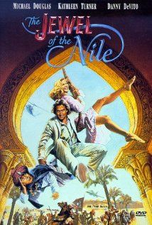 The Jewel of the Nile (1985) - Michael Douglas, Kathleen Turner and Danny DeVito (sequel of Romancing the Stone)