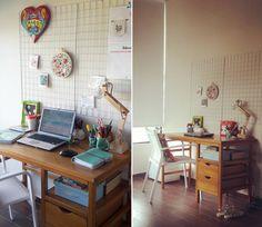Mesh board ou aramado para home office