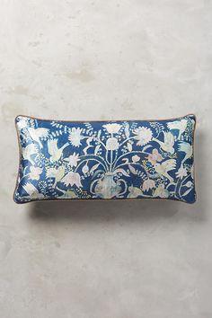 Odelina Pillow, cotton velvet