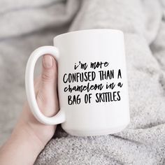 Gifts In A Mug, Gifts For Her, Large Coffee Mugs, Funny Mugs, Sassy, Funny Stuff, Cricut, Sayings, Unique Jewelry