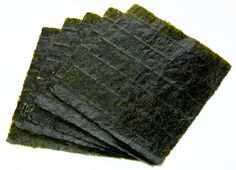 Nori 海苔 - Edible seaweed sheet ⋆ Make my Sushi Natural News, Natural Health, Natural Cures, Edible Seaweed, Nori Seaweed, Sources Of Vitamin B, Sea Vegetables, Veggies, Gut Microbiome