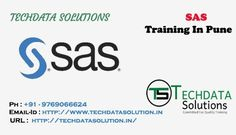 Techdatasolution providing SAS Training In Pune.We are providing Corporate Courses with well experienced trainers.SAS Training conducted by expert trainers at our institute with years of experience. This course helps you learn the software platform with hands on training.