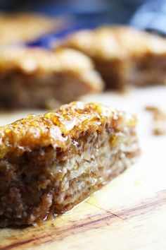 Easy Step-By-Step Baklava recipe with walnuts, dates, coconut and fig jam! | FusionCraftiness.com, baklava, figs, walnuts, dates, Middle Eastern dessert, Turkish dessert, honey, The Ochi Day