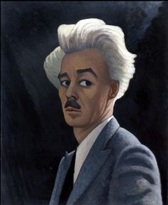Lawren Harris - Self-portrait, 1932 - Art Gallery of Ontario. Group Of Seven Artists, Group Of Seven Paintings, Canadian Painters, Canadian Artists, Lauren Harris, Franklin Carmichael, Rockwell Kent, Tom Thomson, Art Gallery Of Ontario