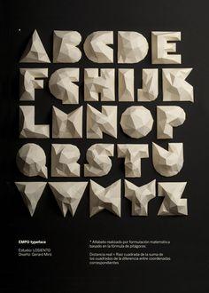 EMPO typeface by LOSIENTO