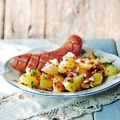 Chilinen perunasalaatti | K-ruoka #vappu