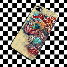 Cute Elephant Design for iPhone 4/4s/5/5s/5c, Samsung Galaxy s3/s4 case