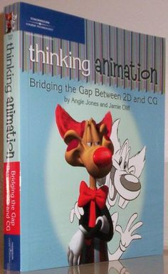 Thinking Animation: Bridging the Gap Between 2D and CG: Angie Jones, Jamie Oliff: 9781598632606: Amazon.com: Books  ★ || iAnimate || ★  Find more at https://www.facebook.com/iAnimate.net http://www.pinterest.com/ianimateschool/ #ianimate  iAnimate.net is quite simply the best animation program in the world. #animation #books