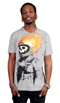 Crash and Burn T-shirt by radiomode from Design By Humans. Crash and Burn T-shirt by radiomode from Design By Humans.  for