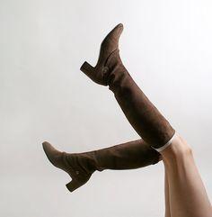 Vintage Salvatore Ferragamo Boots $85.00 #boots #fashion #womens