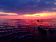Закат на острове Искья сегодня...волшебство)) Италия...