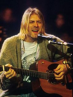 Kurt Cobain. Absolutely Beautiful