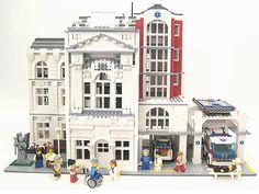 Lego Hospital: Mercy General by lgorlando, via Flickr