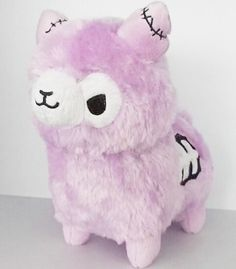 Tasty Peach Studios — Lavender Zombie Alpaca Plush - Preorder