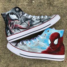 Custom Converse, Custom Sneakers, Custom Shoes, Balsamic Flank Steak, Werewolf Art, Hypebeast Wallpaper, Sneaker Art, Painted Shoes, Sitting Area