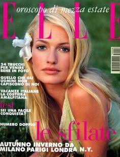 Karen Mulder, Italian Elle, 90s.