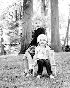 Toddler siblings