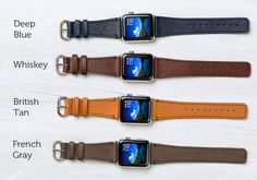 Classic Leather Band for Apple Watch by Pad & Quill