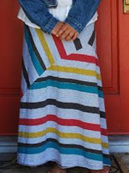 Stripe Play Maxi Dress. The Stripe Play Maxi Dress is a DIY maxi dress project that combines fun patterns and colors. It's a trendy little number for summer parties. Use this DIY maxi dress tutorial to make a super cute garment that's comfy and simple to make. #sewing