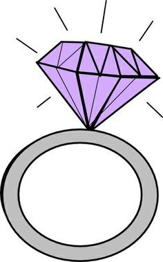 engagement ring outline clip art 2 pinteres rh pinterest com download free clipart diamond ring diamond ring clipart