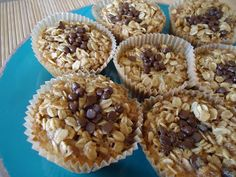 Baked Oatmeal Cups (makes 12)