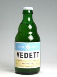VEDETT EXTRA WHITE  【★★★☆☆】  ちょっとした酸味のあるホワイトビール。ベルギービールバーでなぜか最初に飲んでしまう。