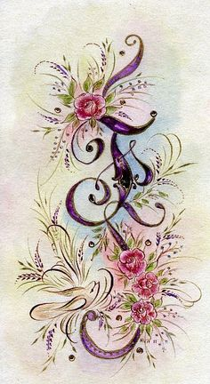 Ink Flourishes: Finding F Fancy Letters, Monogram Letters, Alphabet Art, Letter Art, Creative Lettering, Hand Lettering, Calligraphy Letters, Illuminated Letters, Fabric Painting