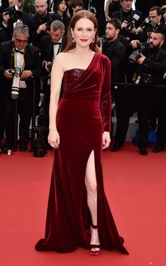 Julianne Moore attends the Cannes Film Festival in a custom Givenchy gown