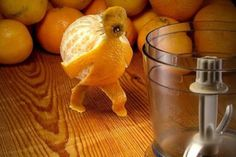 In today's post we have gathered a collection of Awesome Food Art. You can find extraordinary edible art in this post. Checkout more Food art after the jump. L'art Du Fruit, Fruit Art, Fruit Juice, Cute Food, Good Food, Funny Orange, 9gag Food, Amazing Food Art, Awesome Food