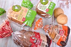 "Rebranding. Packaging design. The bread. Modern private bakery ""Tomin Bread."""
