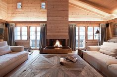 """Chalet Gstaad by Almadi Neder Architects"""