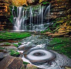 Elakala Falls, WV. Blackwater ...