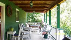 images of country back porches | The back country porch.