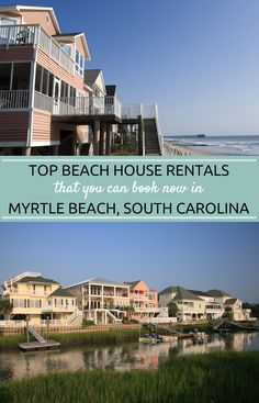 Myrtle Beach is Home to 60 Miles of Beautiful Beach Home Rentals and Condo Rentals For Your Next Vacation!  You Can Find the Perfect Rental Whether you Want a Romantic Getaway or a Family Vacation.  Book Early and Save on Your 2016 Trip.