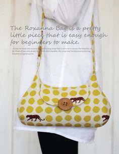 roxanna bag sewing pattern