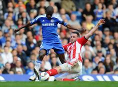 """Chelsea v Stoke City - Premier League    """"A crucial match for Roberto Di Matteo's men is at stake this Saturday, as they face Premier League strongmen, Stoke City, in a battle at Stamford Bridge."""""""
