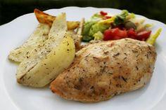 Ovnsbakt kyllingfilet
