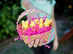How to Make a DucK Tape Easter Basket  | Easter Decorating with @HGTV