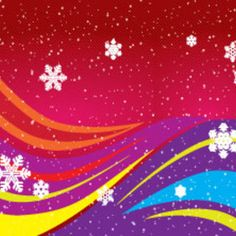 Colored Design Lined Art Graphic